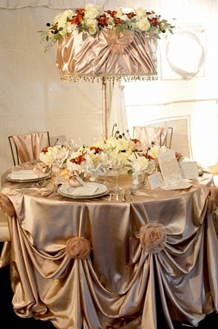 Fall Elegance Tablescape
