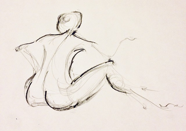 Gestural Life Study - 90 seconds
