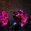 Magenta Textured Bridesmaid Bouquets