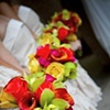 Tropical Bridesmaid Bouquets