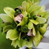 Textured Green Bridal Bouquet