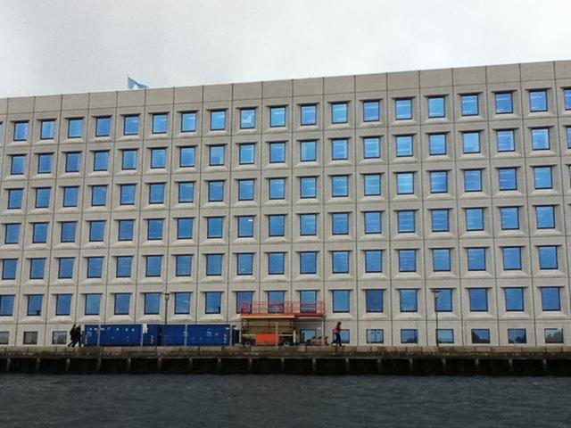 Maersk shipping co - based in Copenhagen aka One Thousand Blue Eyes