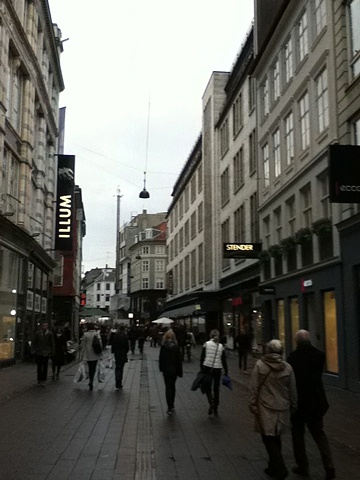 "Stroget ""The Stroll"" -Copenhagen's largest shopping area is centered around Strøget in the heart of the city."