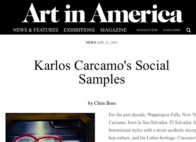 Art In America Magazine (Online)