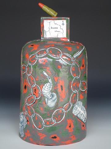 Che, ceramics