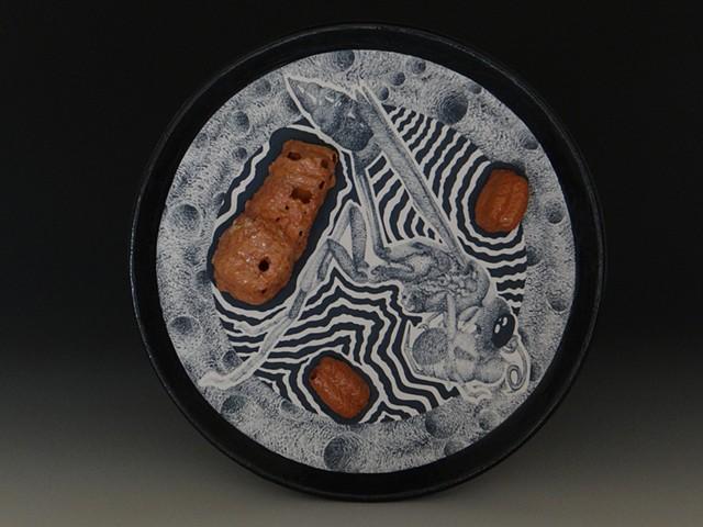 Ceramics, Stuart Asprey, Clay, Insects, Porcelain, Mud Daubers