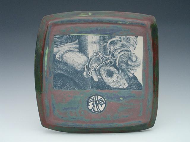 Harry Houdini, ceramics