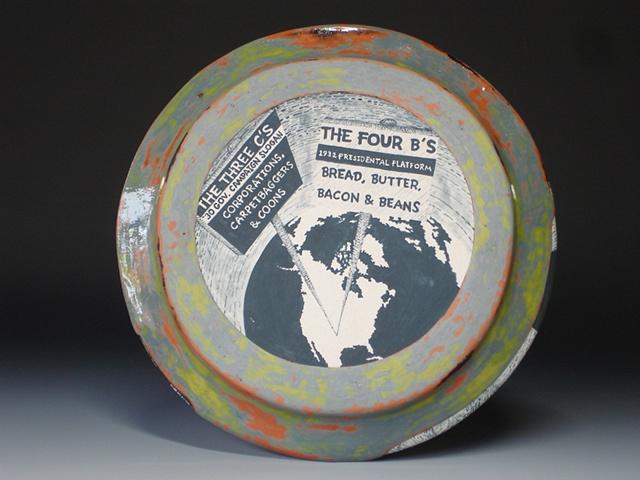 Alfalfa Bill Murray, ceramics