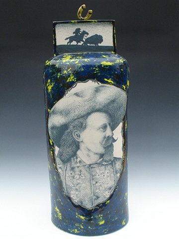Buffalo Bill, Ceramics