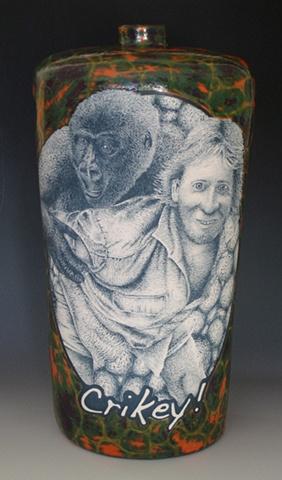 Steve Irwin, ceramics