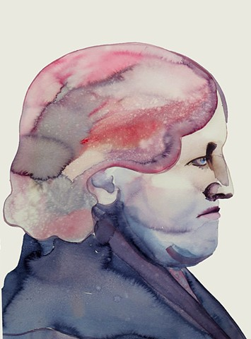 Elderly woman (profile)