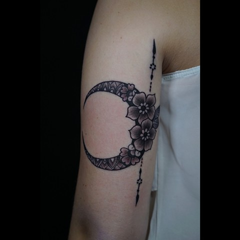 Moon adornment