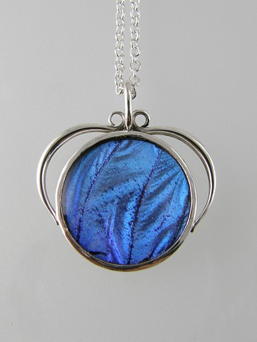 'Blue Wing Pendant'