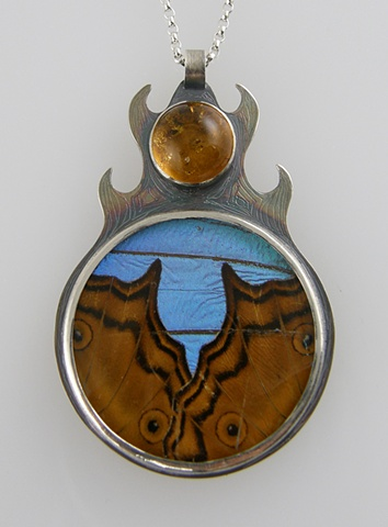 'Fire and Air' Pendant