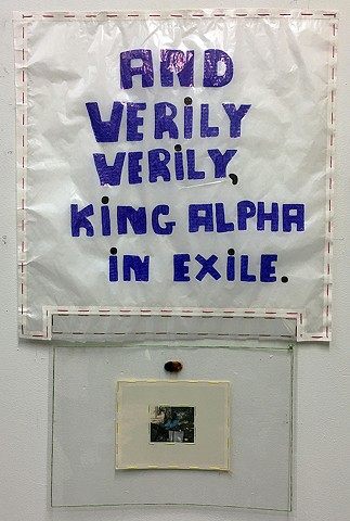 And Verily Verily, King Alpha in Exile. One Halo