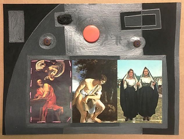 Black Caravaggio, Costumi Sardi e Orazio