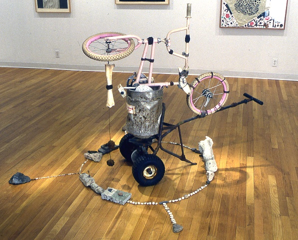 Senor Negro, York College Solo Exhibition, 2000