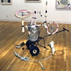 Senor Negro, York College Solo Exhibition, 2000