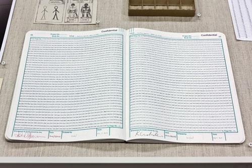 grid, counting squares, record book, pattern theory Ken Nicol K.Nicol K- Nicol, www.k-nicol.com