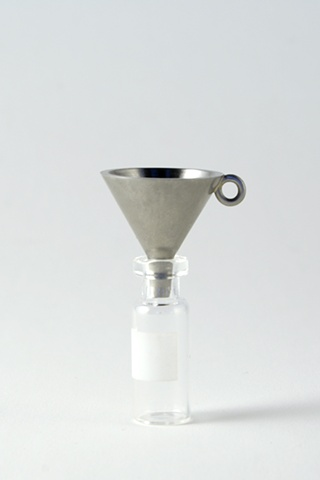 Special funnel for putting little things into little bottles ken nicol, k-nicol