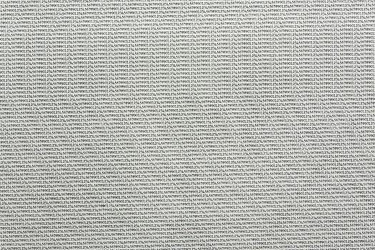 Numbers Not Counting, Typergrid, Obsessive order, patterned theory, conceptual artist, typewriter, Ken Nicol, K-Nicol, K.Nicol, www.k-nicol.com