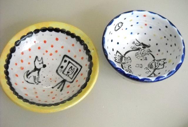 Jen Silfer pet bowls