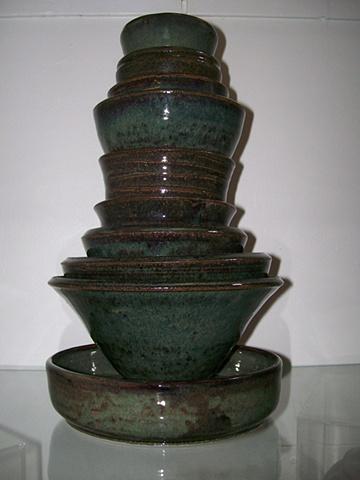 Phillip Duroiseau Stack of Bowls