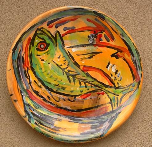 Lindy Hirst, fish platter