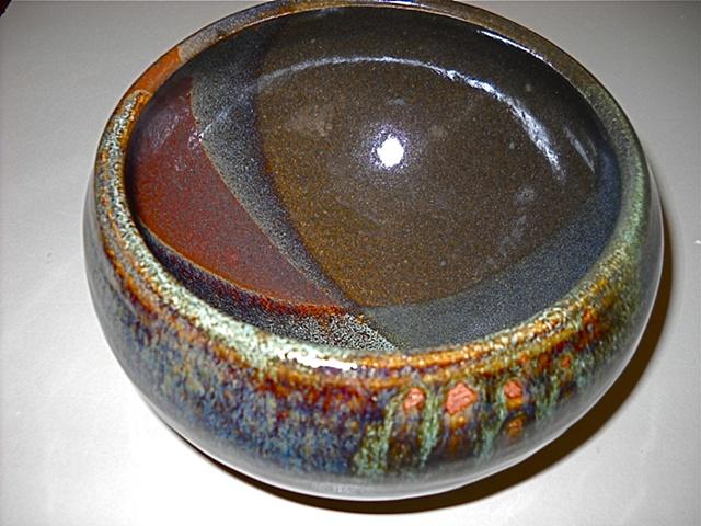 Susan Moore          3-color bowl