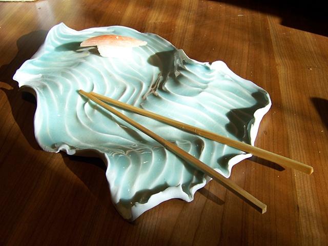 Porcelain platter