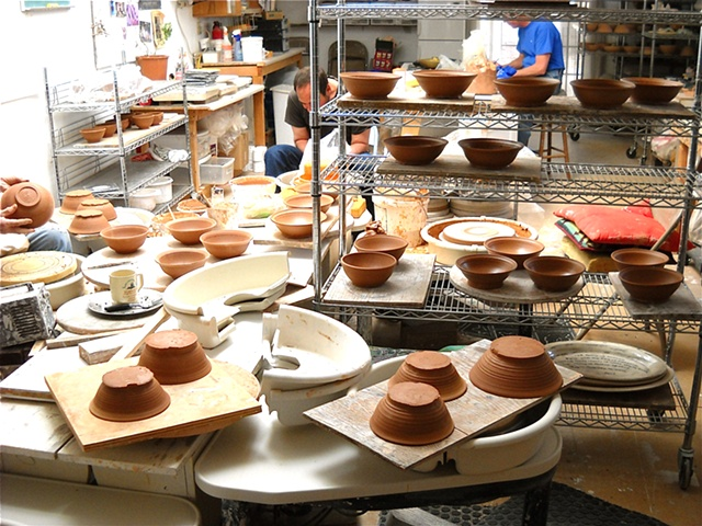 More pots in progress