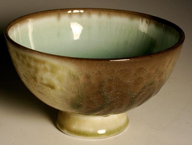 Evan Speegle Blue Celedon arita-style bowl
