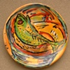 Lindy Hirst, fish platter