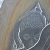 Inset of Buddha still lives in Pakistan # 3 - Side A