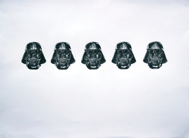 Various Moods of Darth Vader