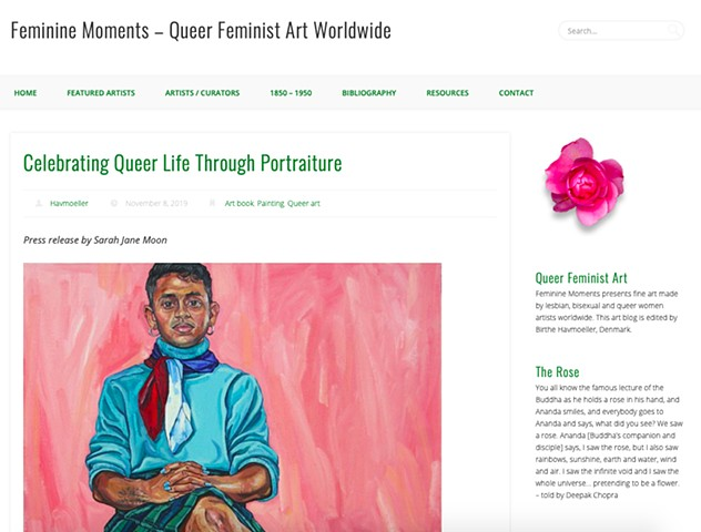 Celebrating Queer Life Through Portraiture, Feminine Moments, Birthe Havmoeller, 8th November 2019
