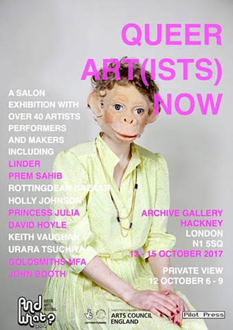 QUEER ART(ISTS) NOW, Archive Gallery, Oct 2017
