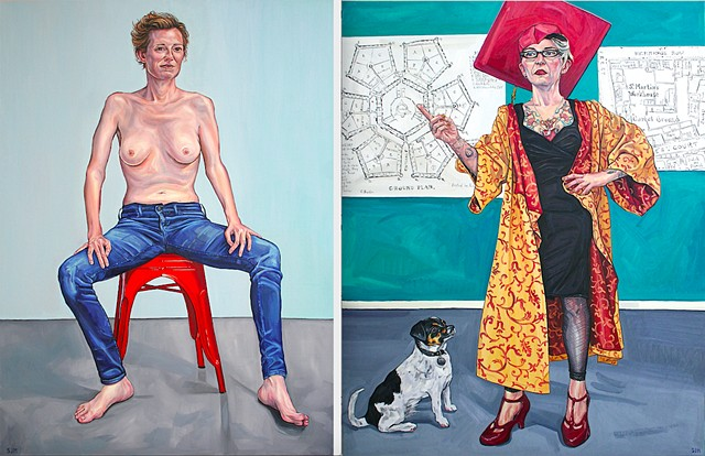 ROYAL SOCIETY OF PORTRAIT PAINTERS ANNUAL EXHIBITION, Mall Galleries, London