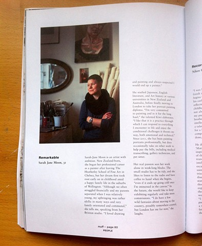 'After Hours' Interview, Kate Bond, Issue 2, 2014