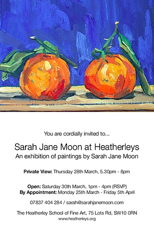 SARAH JANE MOON AT HEATHERLEYS, London