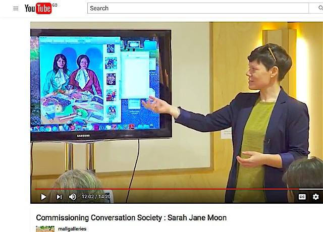 Commissioning Conversations - Mall Galleries, May 8th 2016