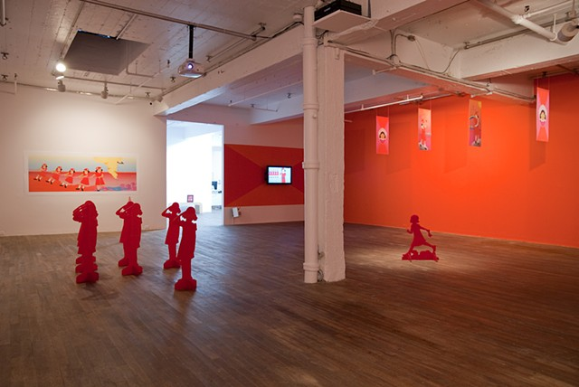 Installation view: Oboro, 2010