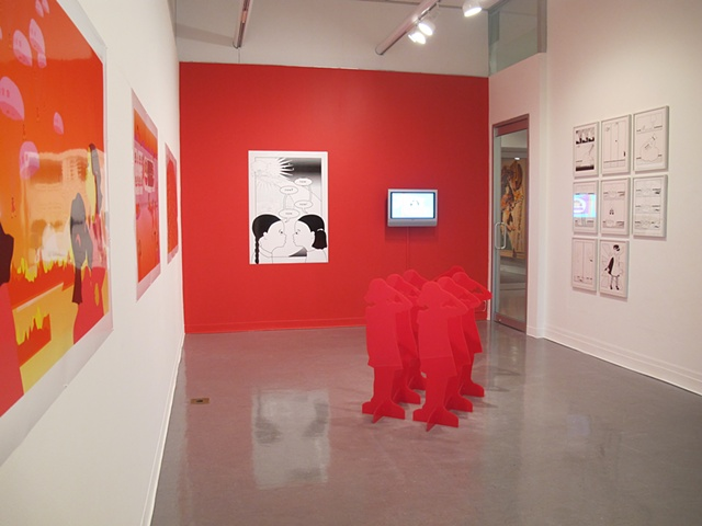 Installation view, Lab Space, Art Gallery of Greater Victoria