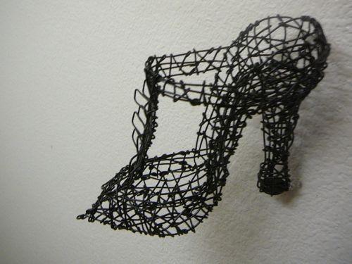 salon shoe #1 (detail)