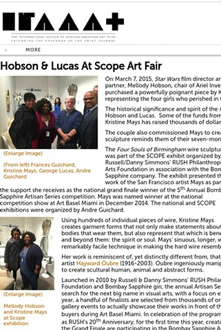 Hobson & Lucas at Scope Art Fair - The International Review of African American Art