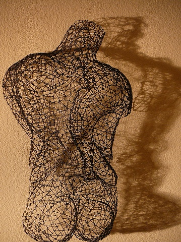 Kristine Mays , wire sculpture, San Francisco artist