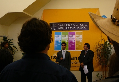Senator Mark Leno & Luis R. Cancel