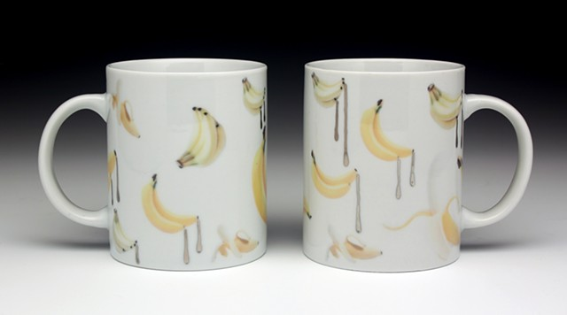 Spanker and Piss Freak Mugs, from the Handkerchief Series (alternate view)