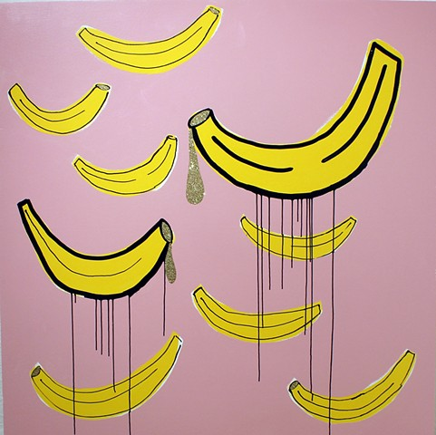 dripping bananas