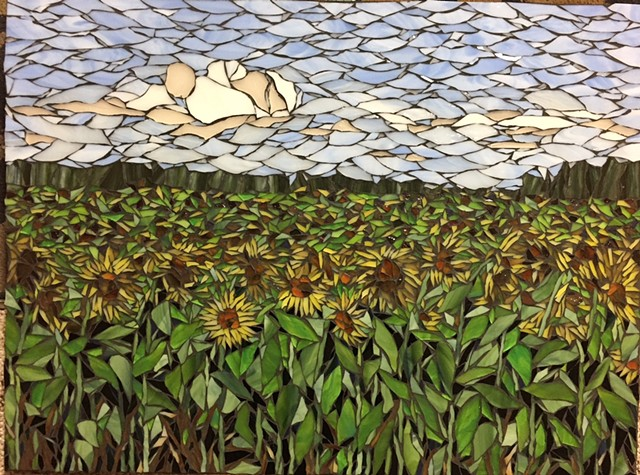 Sunflower Field (At Crossings at Carnegie, Zumbrota, MN)